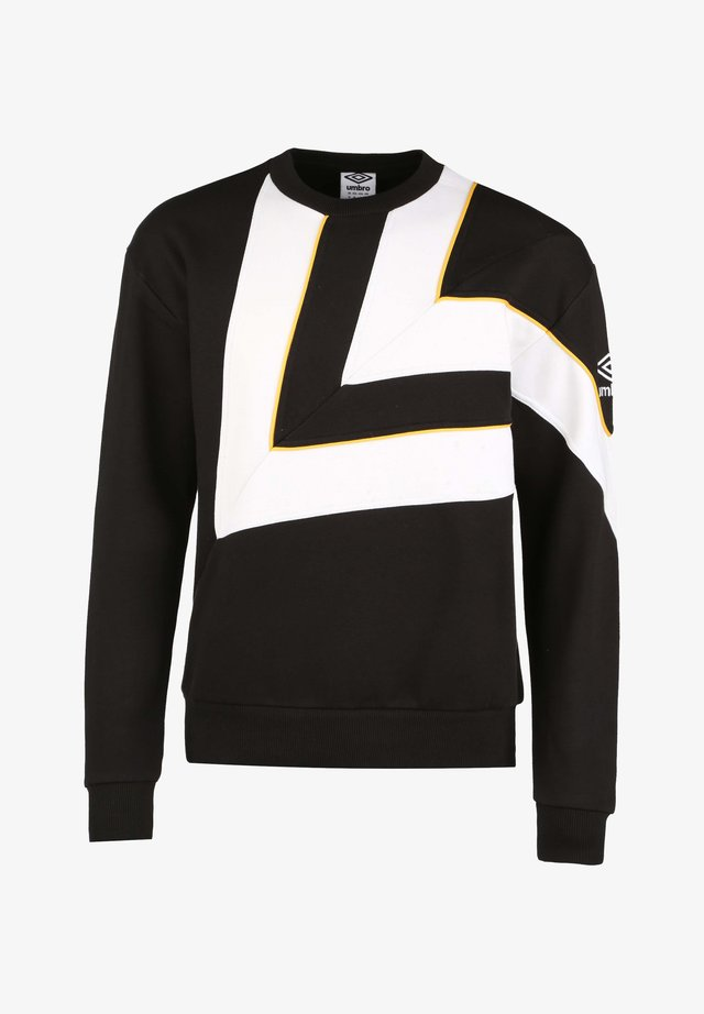 Sweater - black / brilliant white