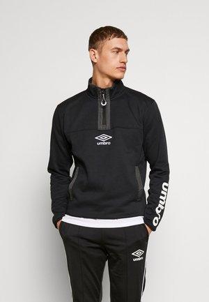 FUNNEL NECK - Sweatshirt - black