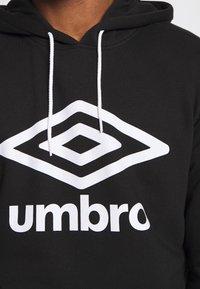 Umbro - Hoodie - black - 5