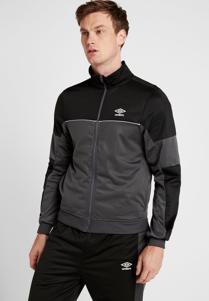 Umbro - TRACKSUIT - Survêtement - carbon/black