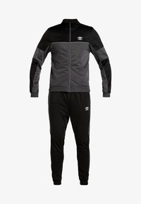 Umbro - TRACKSUIT - Survêtement - carbon/black - 6