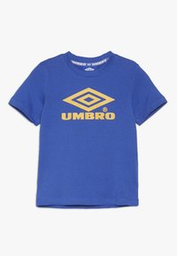 Umbro - CLASSICO CREW TEE - Printtipaita - dazzling blue/haze - 0