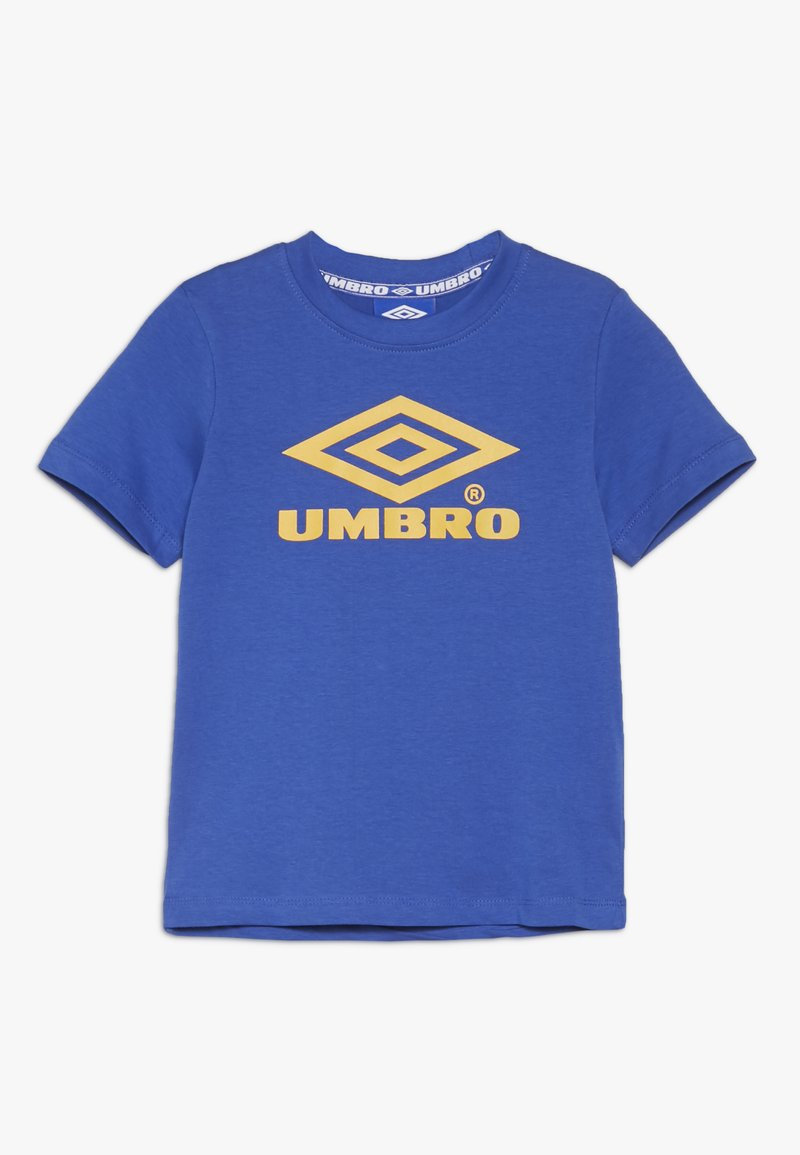 Umbro - CLASSICO CREW TEE - Printtipaita - dazzling blue/haze