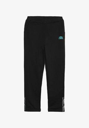 FOUNDATION SLIM FIT TAPED PANT BOYS - Pantalon de survêtement - black/ceramic