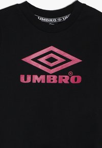 Umbro - NEO VISTA CREW BOYS - Mikina - black/berry/ceramic - 3