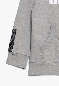 Umbro - FOUNDATION HOOD BOYS - Hoodie - grey marl/white - 2