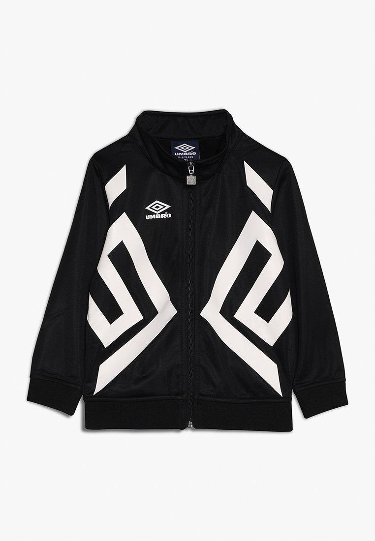 Umbro - DOMINION TRICOT BOYS - Training jacket - black/white