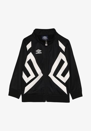 DOMINION TRICOT BOYS - Giacca sportiva - black/white