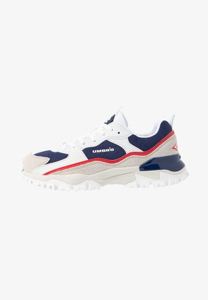 BUMPY - Sneakers basse - navy/ white/vermillion/white smoke