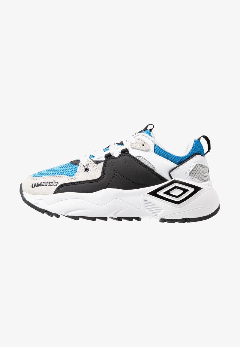 Umbro Projects - RUN - Sneaker low - white/black/ibiza blue/grey