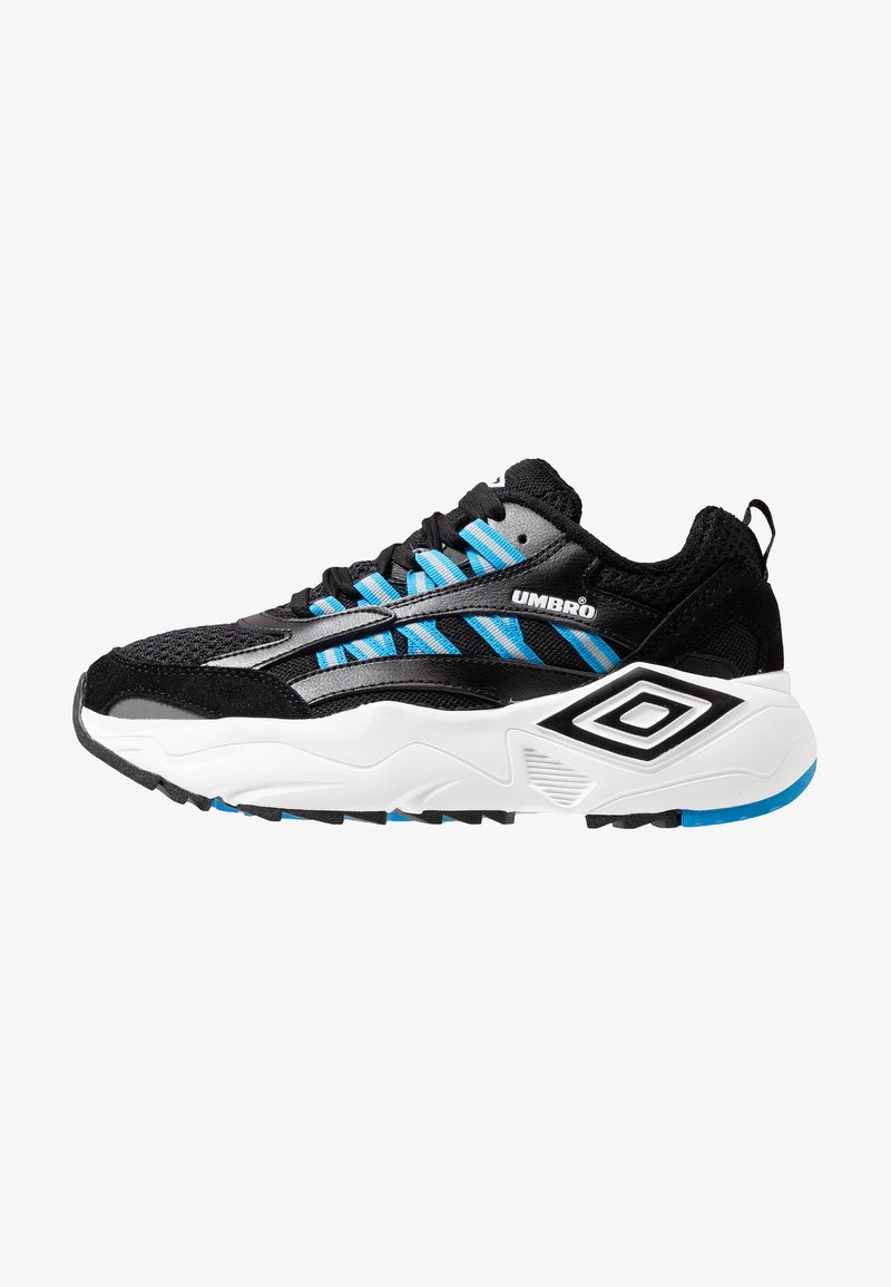 Umbro Projects - NEPTUNE - Trainers - black/white/ibiza blue