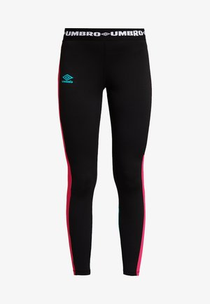 ISLANDER - Legging - black berry pinkceramic