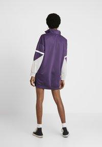 Umbro Projects - LINA DRESS WOMEN - Skjortekjole - cosmos/grey marl/white - 3