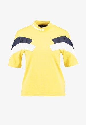 CHEVRON CREW TEE - T-shirts med print - aurora yellow