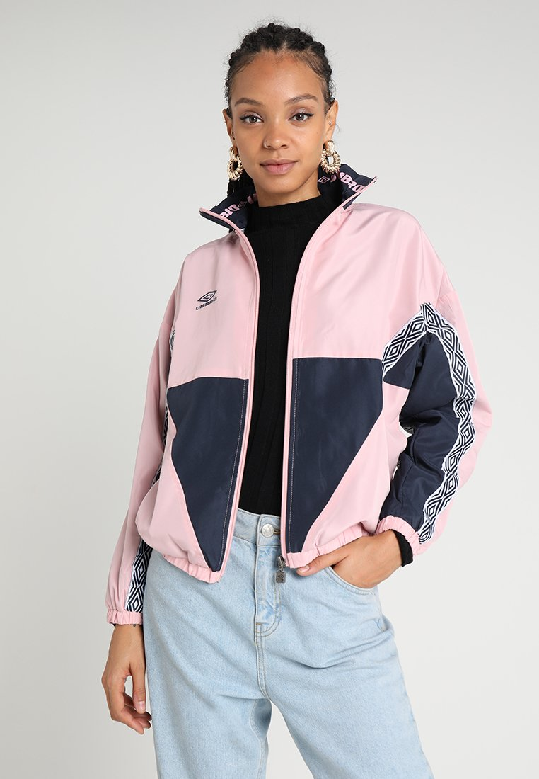 Umbro Projects - SHELL JACKET - Trainingsjacke - blush/blue nights