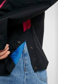 Umbro Projects - LINA ZIP JACKET WOMEN - Windbreakers - black/sorbet/swedish blue/bright white - 6