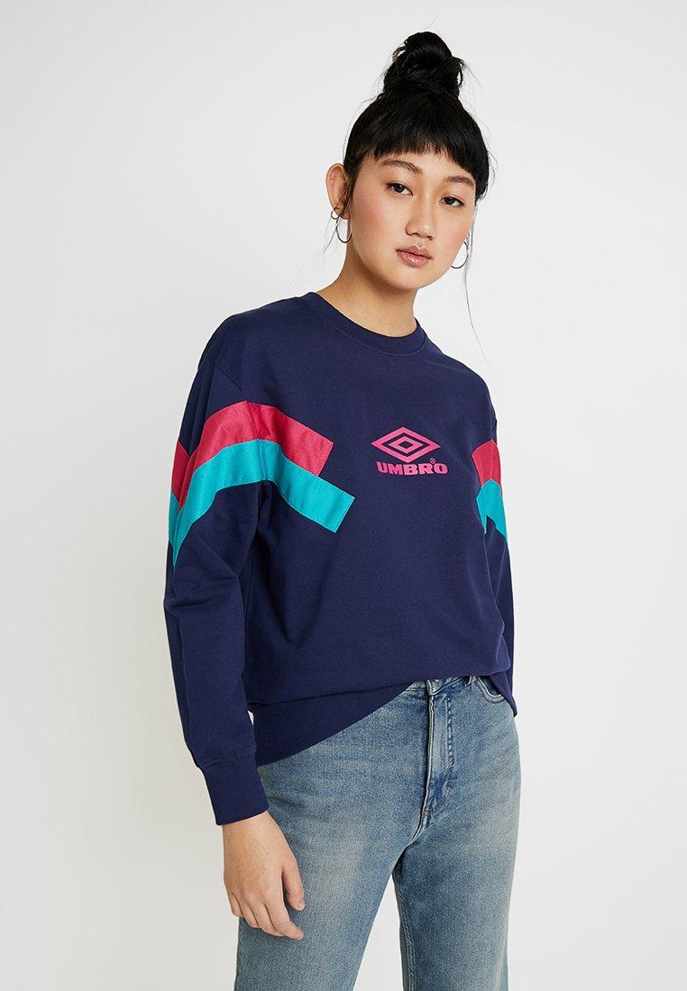 Umbro Projects - CREW - Sweatshirt - medieval blue