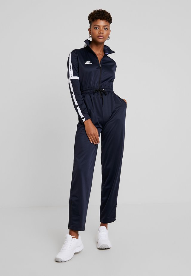 VIDA WOMEN - Overall / Jumpsuit - nightfall/white