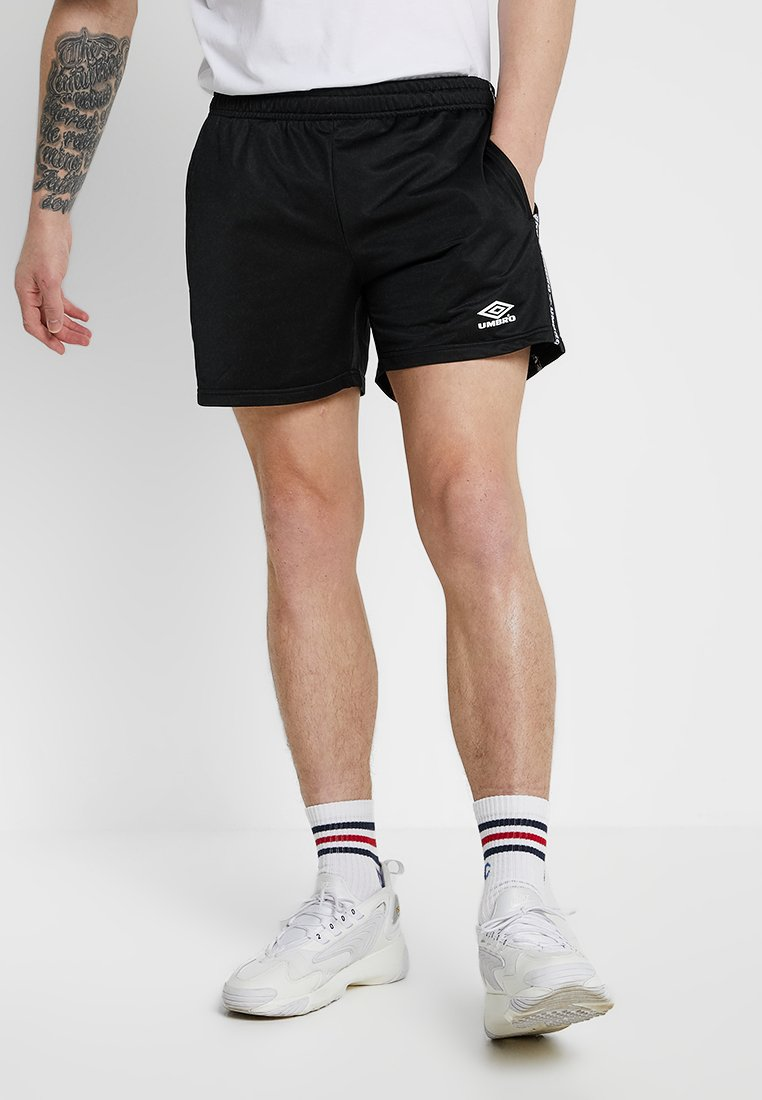 Umbro Projects - SIREN TRICOT - Shorts - black/white