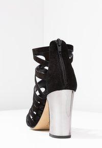 Unisa - WANDY - High Heel Sandalette - black - 5