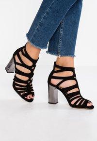 Unisa - WANDY - High Heel Sandalette - black - 0