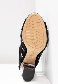 Unisa - WANDY - High Heel Sandalette - black - 6