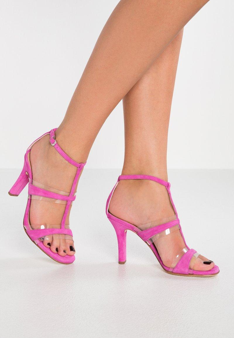 Unisa - SAGUNTO - High Heel Sandalette - fuchia