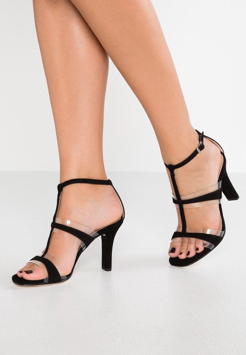 Unisa - SAGUNTO - High heeled sandals - black