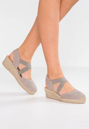 CELE - Platform sandals - fog