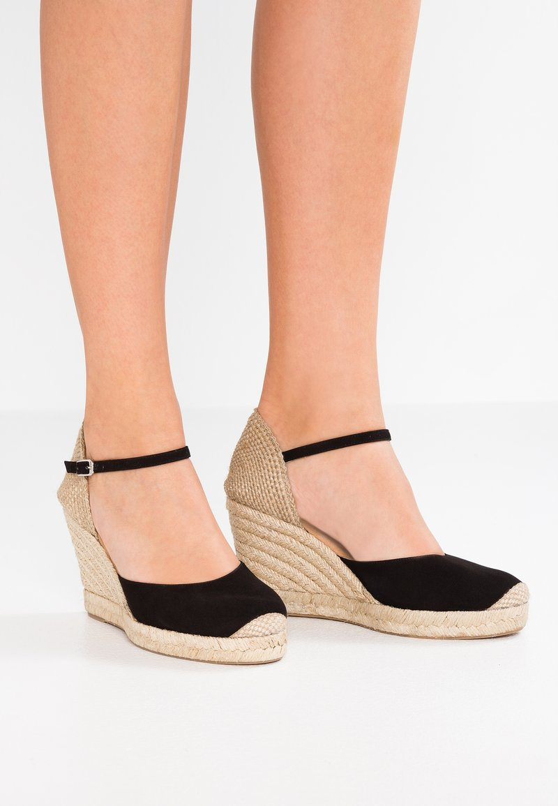 Unisa - CASTILLA - Sandaler med høye hæler - black