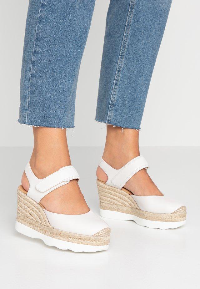 CALANDA - Sandaler med høye hæler - ivory