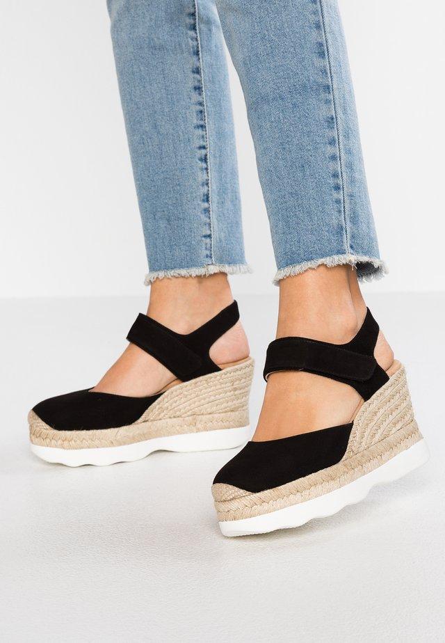 CALANDA - Sandaler med høye hæler - black