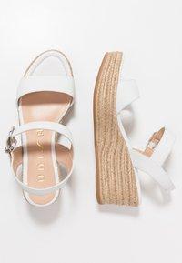 Unisa - KALKA - Platform sandals - white - 3