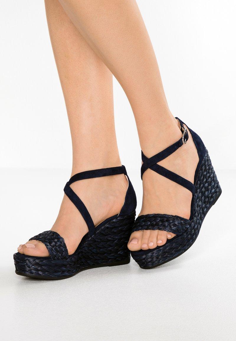 Unisa - LANCHA - High heeled sandals - ocean