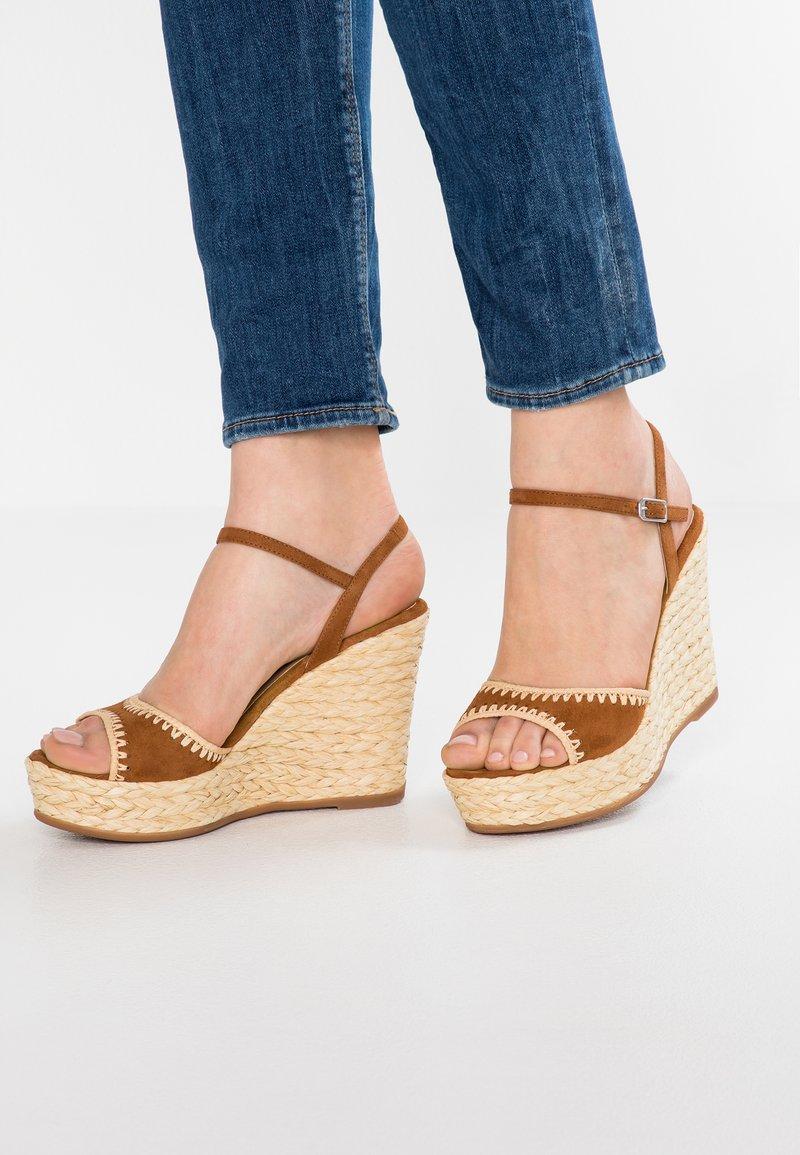 Unisa - MALLORCA - High Heel Sandalette - cuir