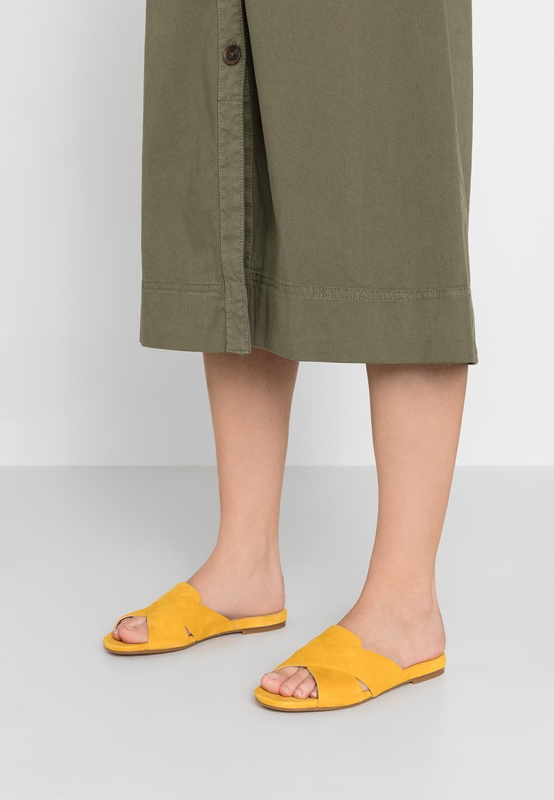 Unisa - COLBY - Mules - yellow