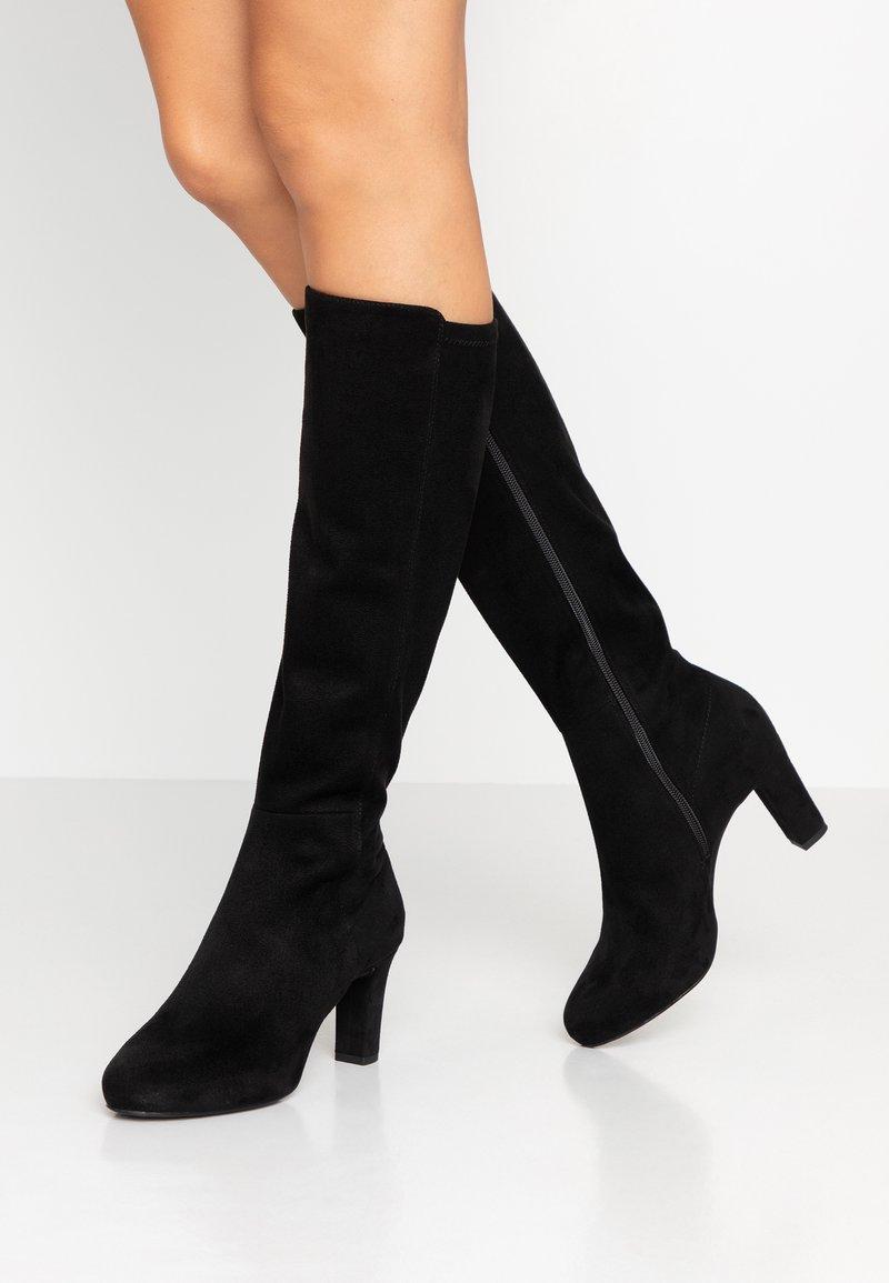 Unisa - NATALIE - Høje støvler/ Støvler - black