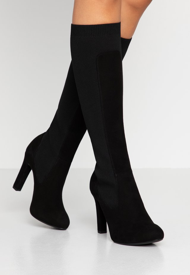 PEDREO - Boots med høye hæler - black