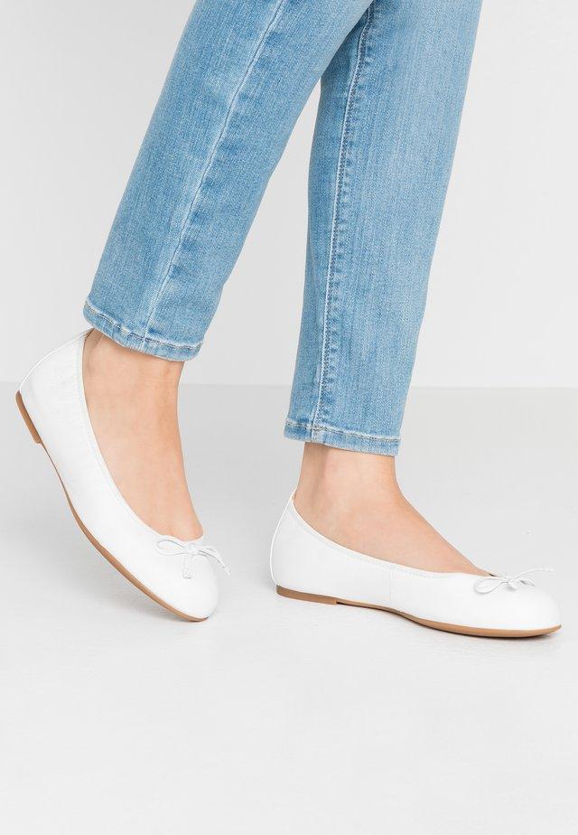 ACOR - Ballet pumps - white