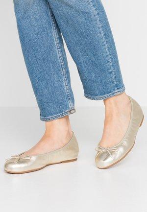 ACOR - Ballet pumps - platino
