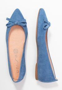 Unisa - ABENO - Ballet pumps - azure - 3