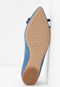 Unisa - ABENO - Ballet pumps - azure - 6