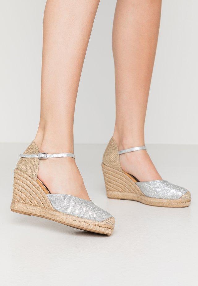 CASTILLA - High heels - silver