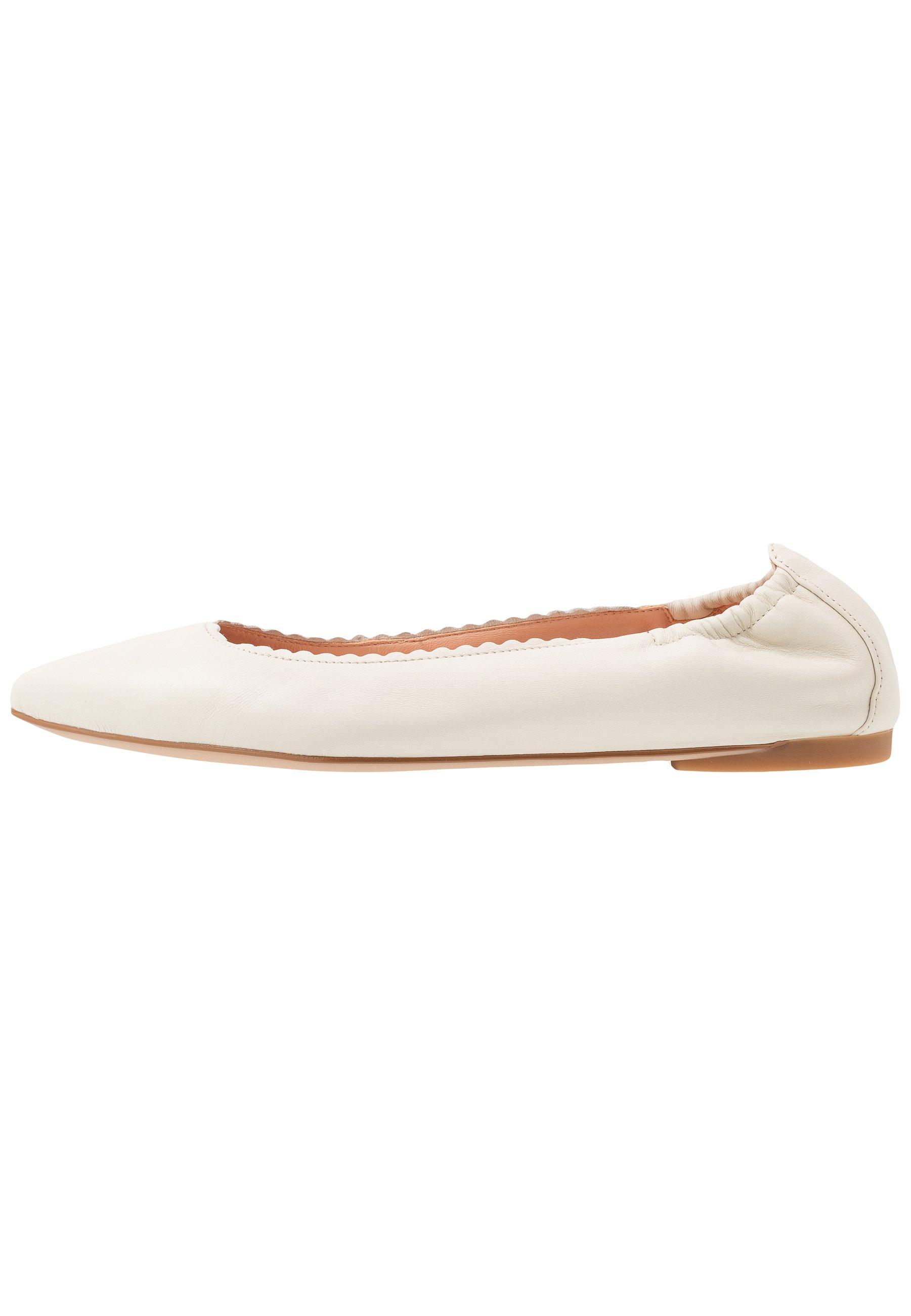 Unisa Aspas - Ballet Pumps Ivory