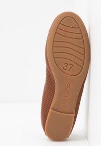 Unisa - ARMAS - Ballet pumps - saddle - 6