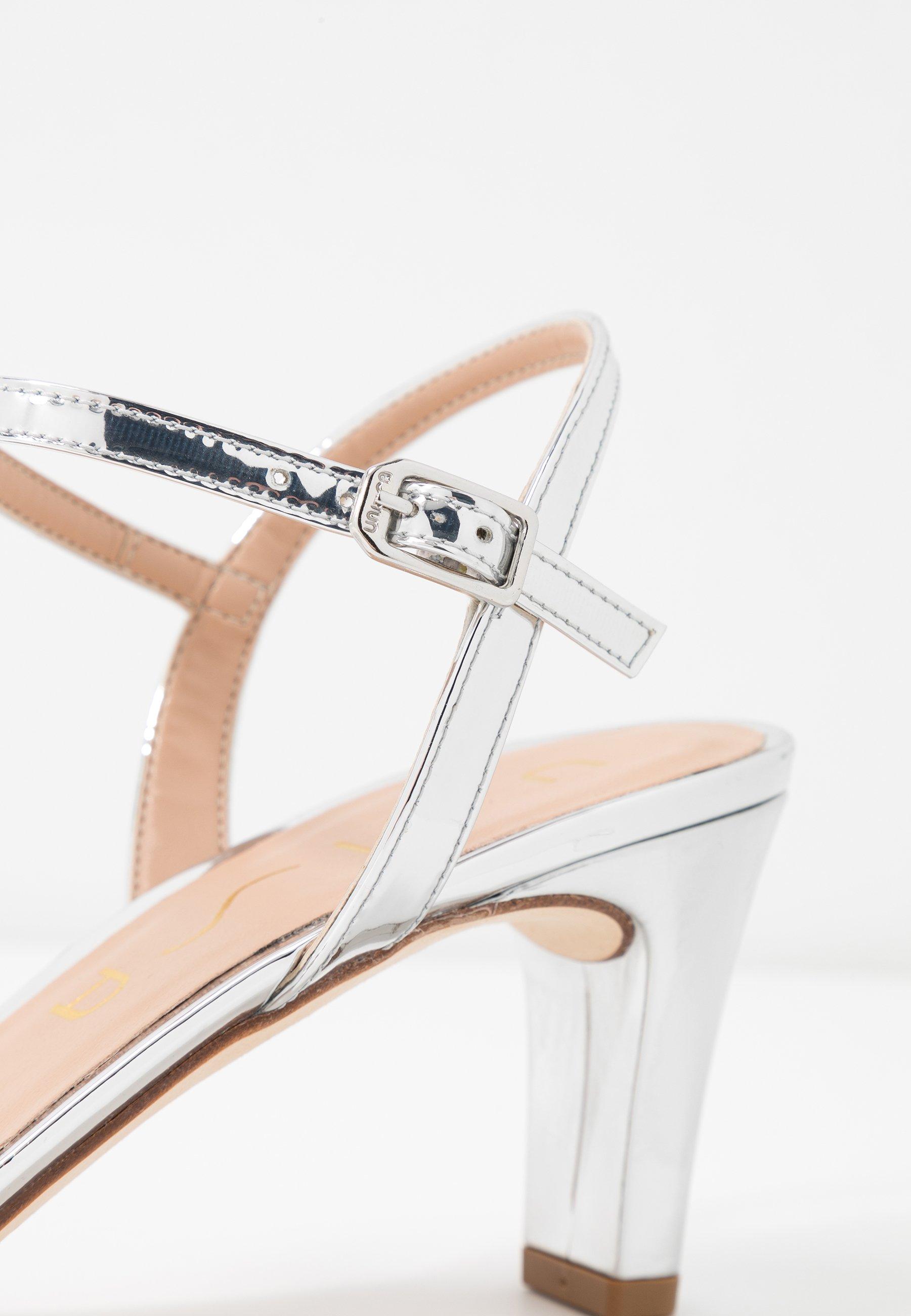 Unisa MECHI - Sandaler - silver