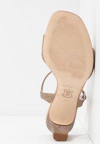 Unisa - MECHI - Sandals - gold - 6