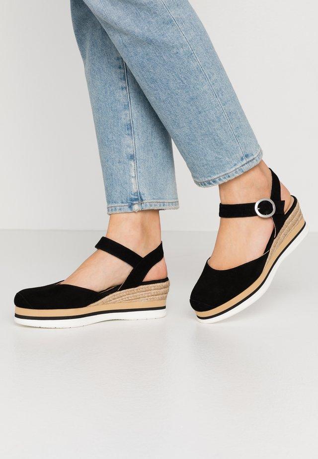 JACER - Loafers - black