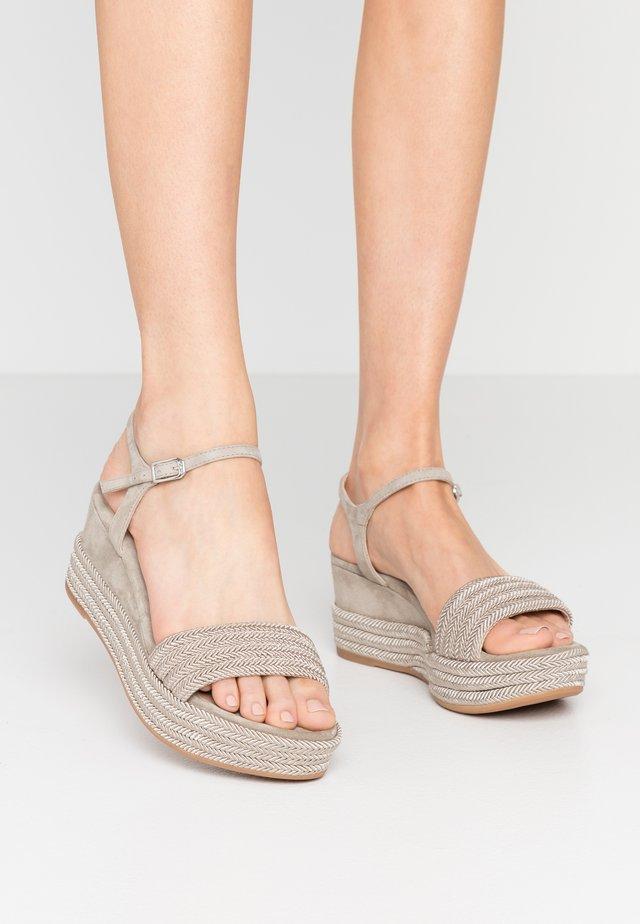 KATIA - Platform sandals - lauro