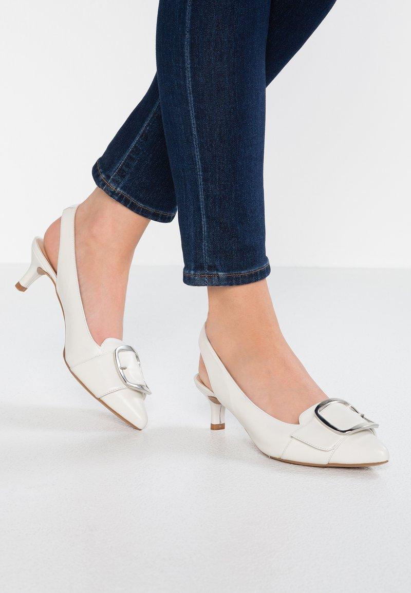 Unisa - JALIS - Classic heels - ivory